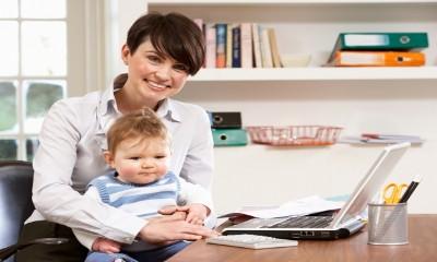 Можно ли работать ухаживая за ребенком?