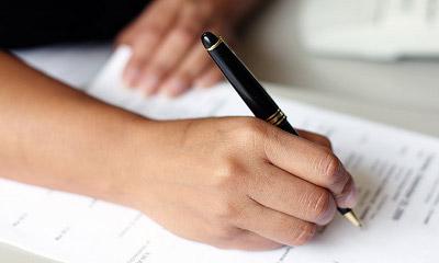 Как написать заявление на выход из отпуска?