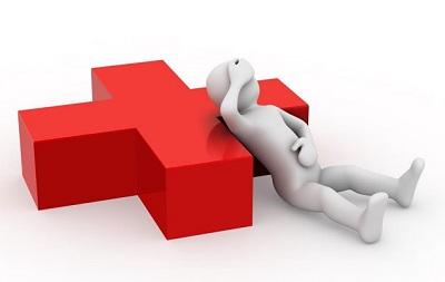 Как можно получить больничный лист человеку, если он не прикреплен к поликлинике и где взять документ?