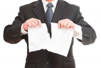 Пять законных способов расторгнуть контракт